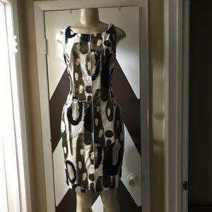 ELIE TAHARI TAILORED COCKTAIL DRESS . RN 50814.